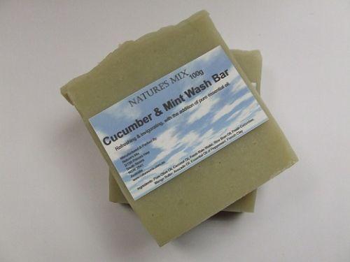 Cucumber & Mint Wash Bar