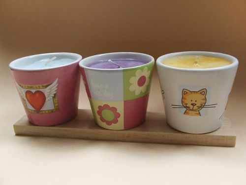 Trio of Scents Candles